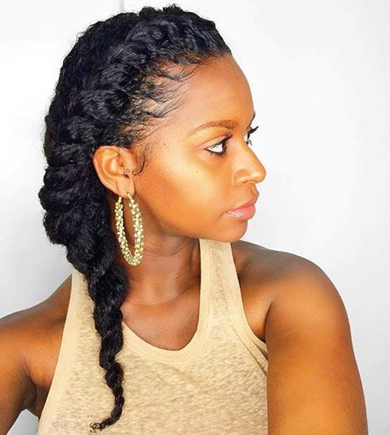 Free 21 Gorgeous Flat Twist Hairstyles Page 2 Of 2 Stayglam Wallpaper
