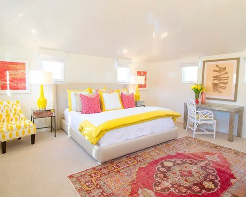 Best Yellow And Pink Design Ideas Remodel Pictures Houzz With Pictures