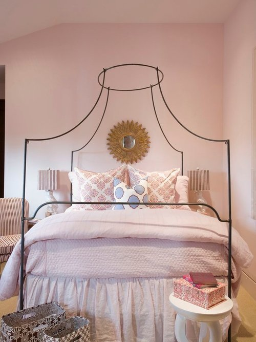Best Dusty Rose Bedroom Houzz With Pictures