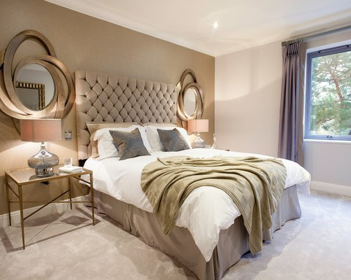 Best Rose Gold Bedroom Houzz With Pictures