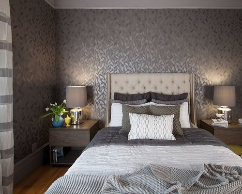 Best Bedroom Wall Designs Houzz With Pictures