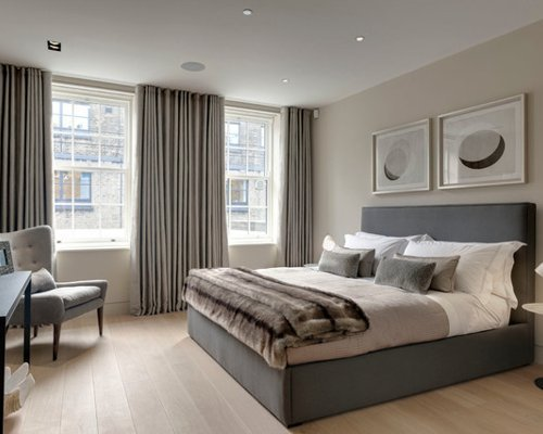 Best Gray Curtains Houzz With Pictures