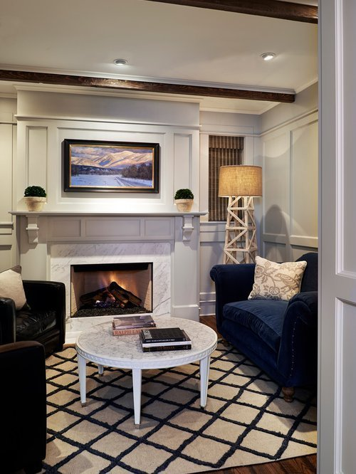Best Small Room Fireplace Houzz With Pictures