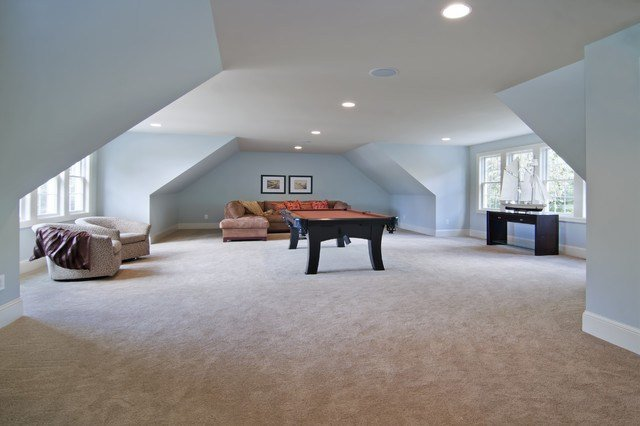 Best Above Garage Bonus Room Traditional Family Room Minneapolis By Schrader Companies With Pictures