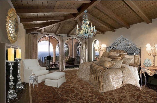 Best California Spanish Colonial Mediterranean Bedroom With Pictures