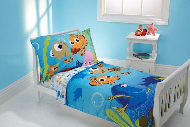 Best Finding Nemo Bedding And Room Decorations Modern Bedroom Jacksonville By Obedding With Pictures