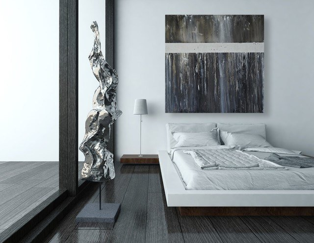 Best Black And White Modern Abstract Art For The Wall Modern With Pictures