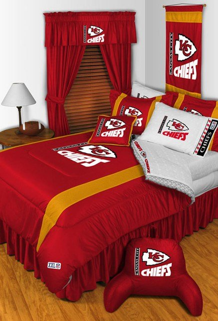 Best Nfl Kansas City Chiefs Bedding And Room Decorations With Pictures