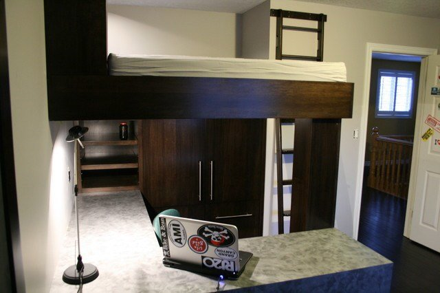 Best Kids Room To Mini Man Cave Traditional Bedroom With Pictures