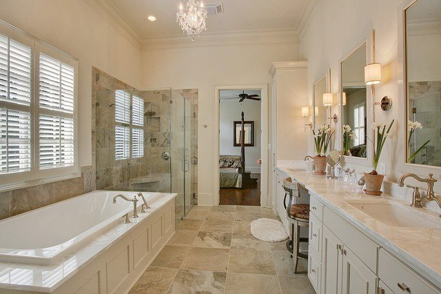 Best Traditional Master Suite Traditional Bathroom New With Pictures