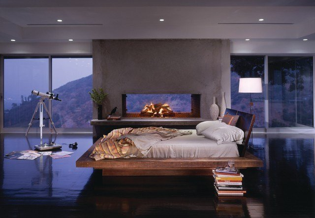 Best Santos Platform Bed Contemporary Bedroom Los Angeles With Pictures