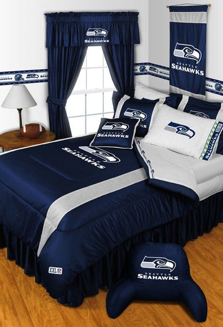 Best Nfl Seattle Seahawks Bedding And Room Decorations Modern With Pictures
