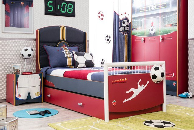 Best Soccer Kids Bedroom Modern Kids Miami By Turbo Beds With Pictures