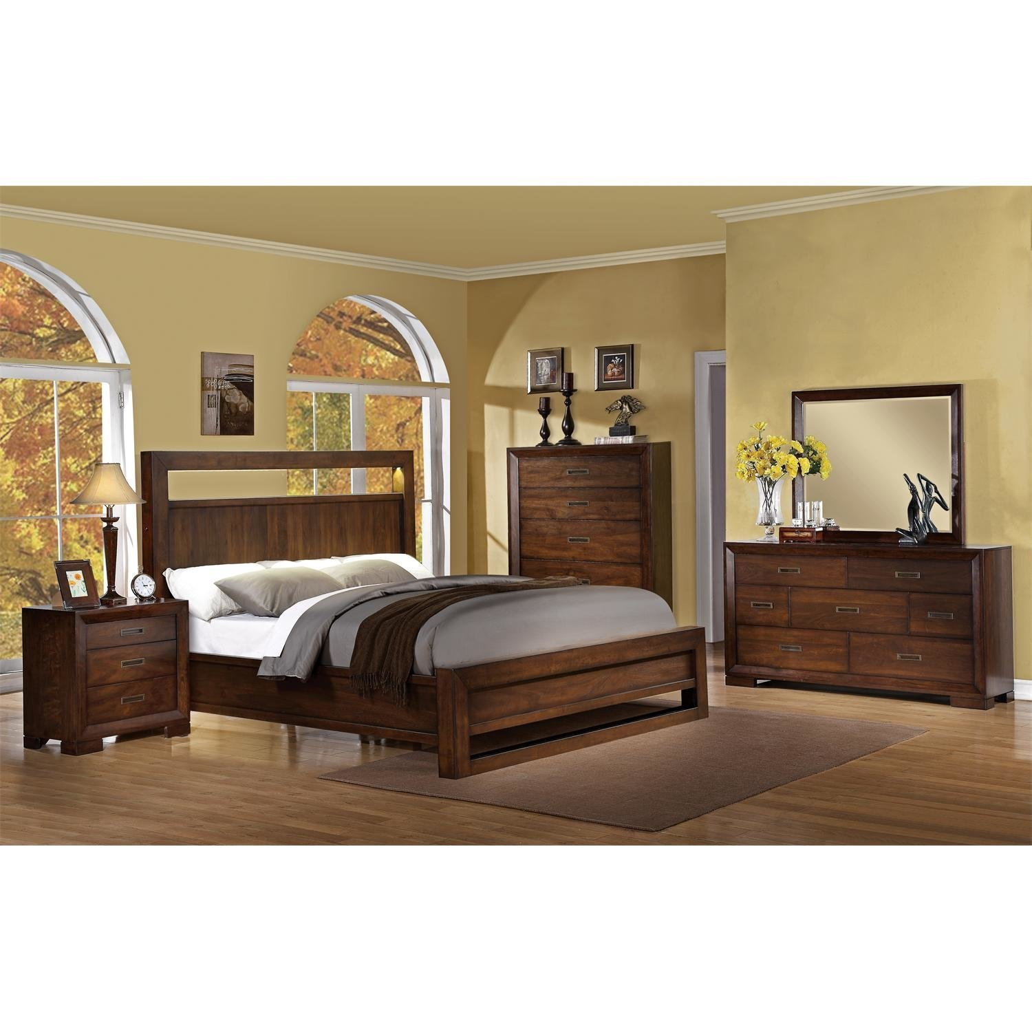 Best Riverside Furniture Riata Panel Customizable Bedroom Set With Pictures