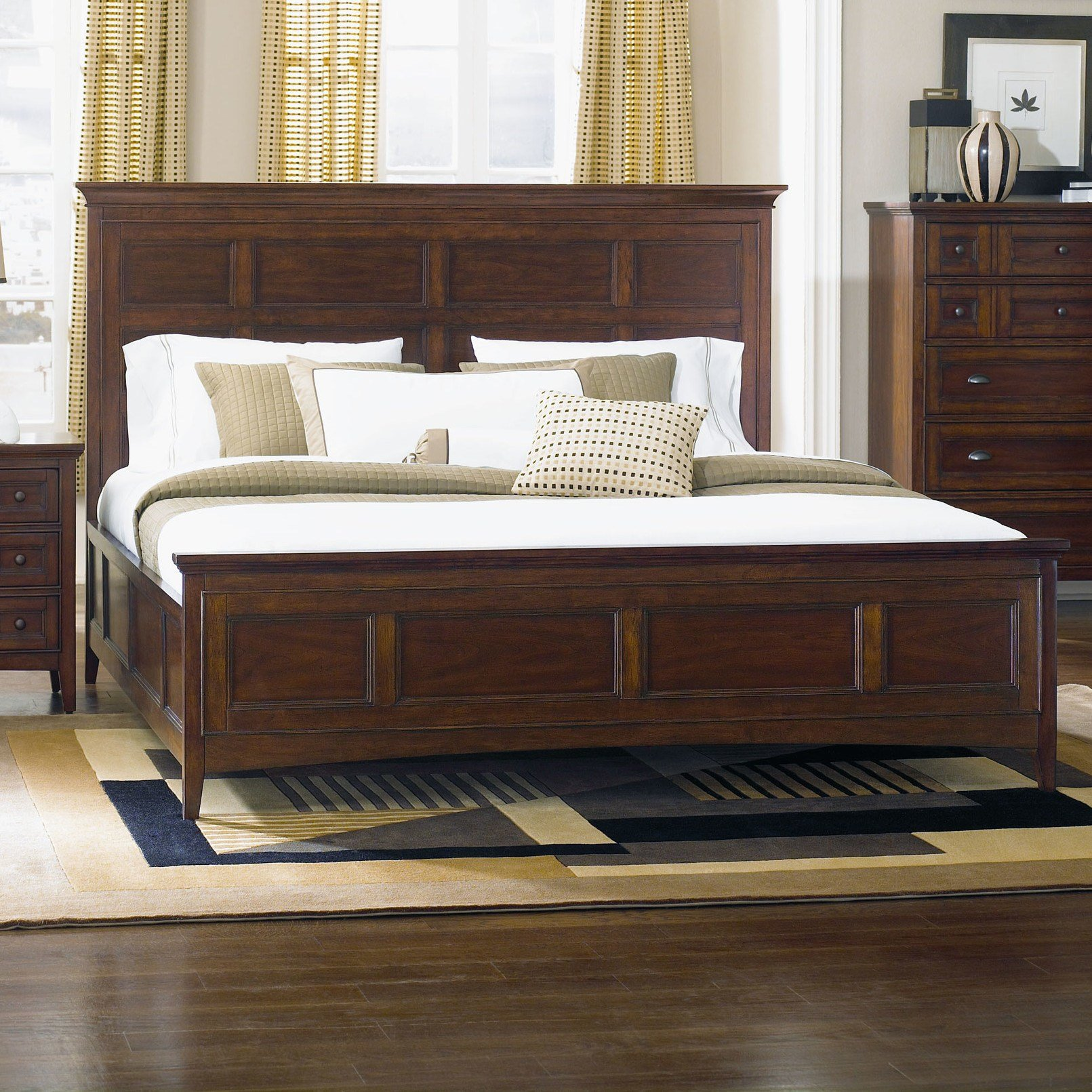 Best Magnussen Harrison Panel Bed Reviews Wayfair With Pictures