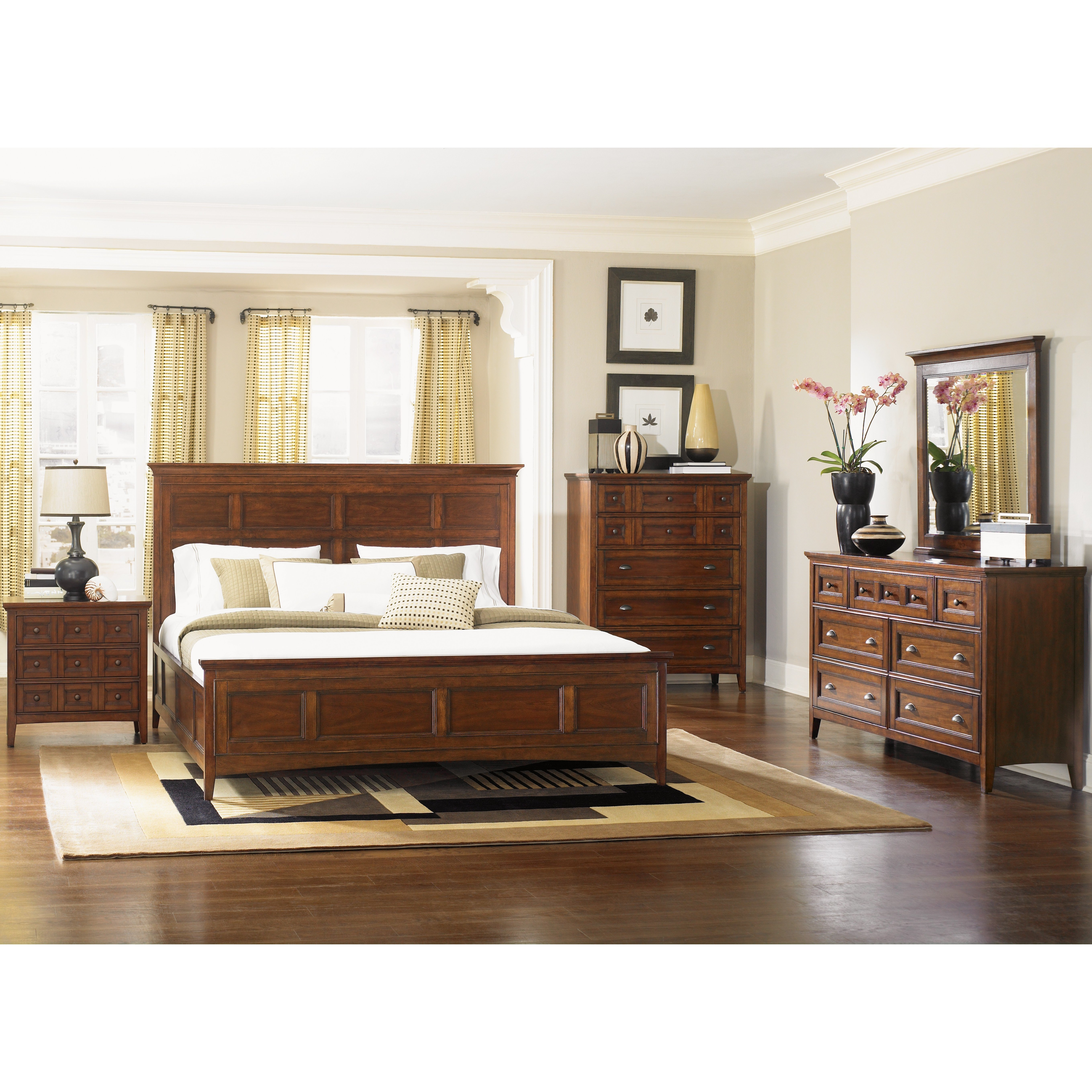 Best Magnussen Harrison Wood Headboard Reviews Wayfair With Pictures