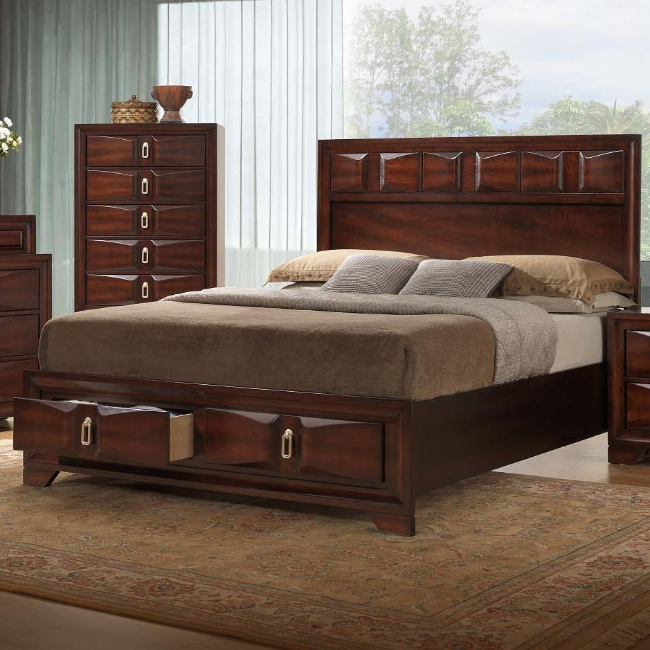 Best Simmons Casegoods Roswell Panel Customizable Bedroom Set With Pictures