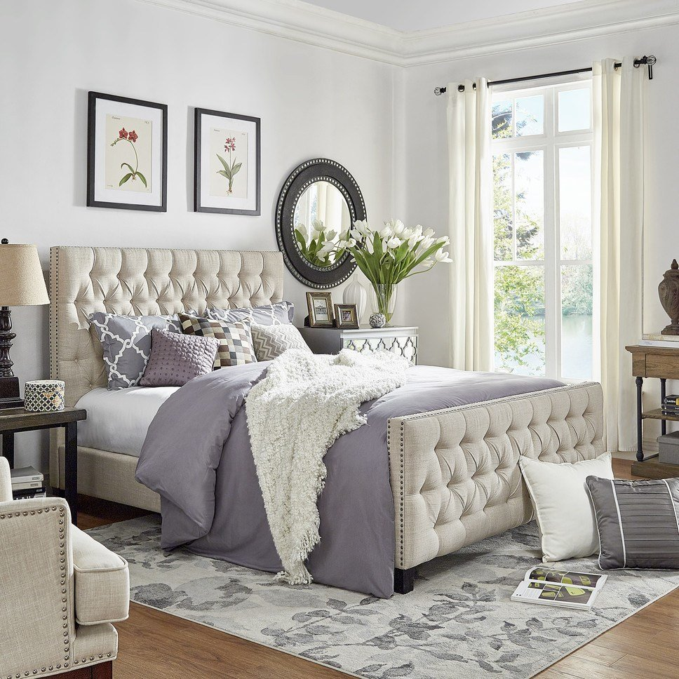 Best Glam Bedroom Design Photo By Wayfair With Pictures