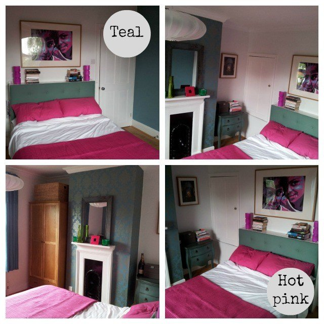 Best Teal And Hot Pink Bedroom Secretgardenhome With Pictures