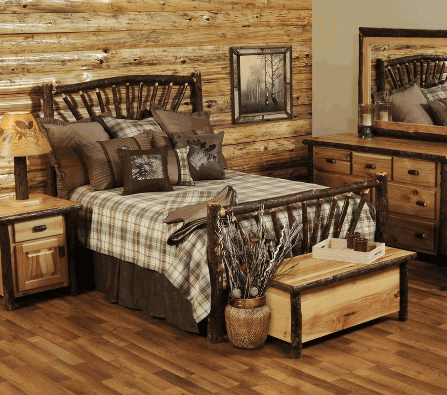 Best Hickory Log Bedroom Furniture Collection With Pictures