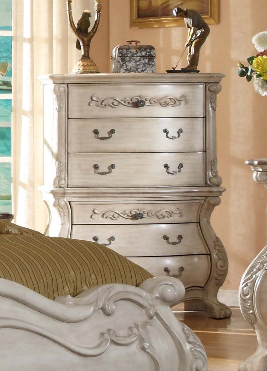 Best Antique White Bedroom Furniture Queen Mansion Bed With Pictures