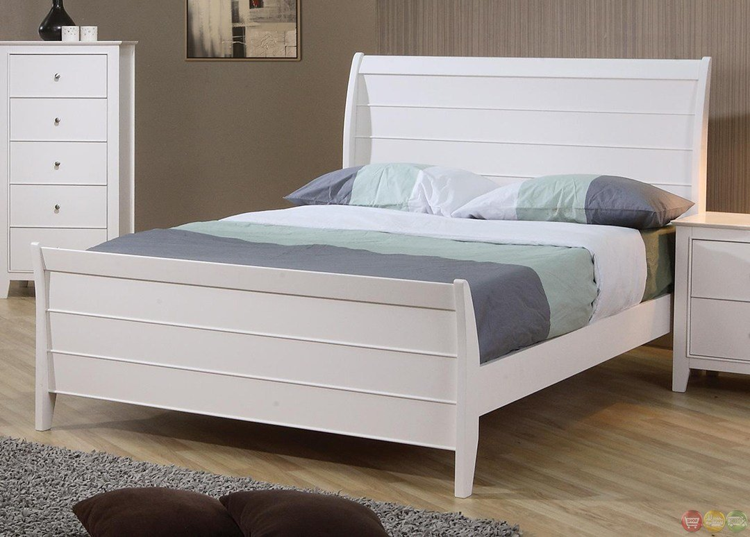 Best Selena White Twin Sleigh Bed Youth Bedroom Set With Pictures