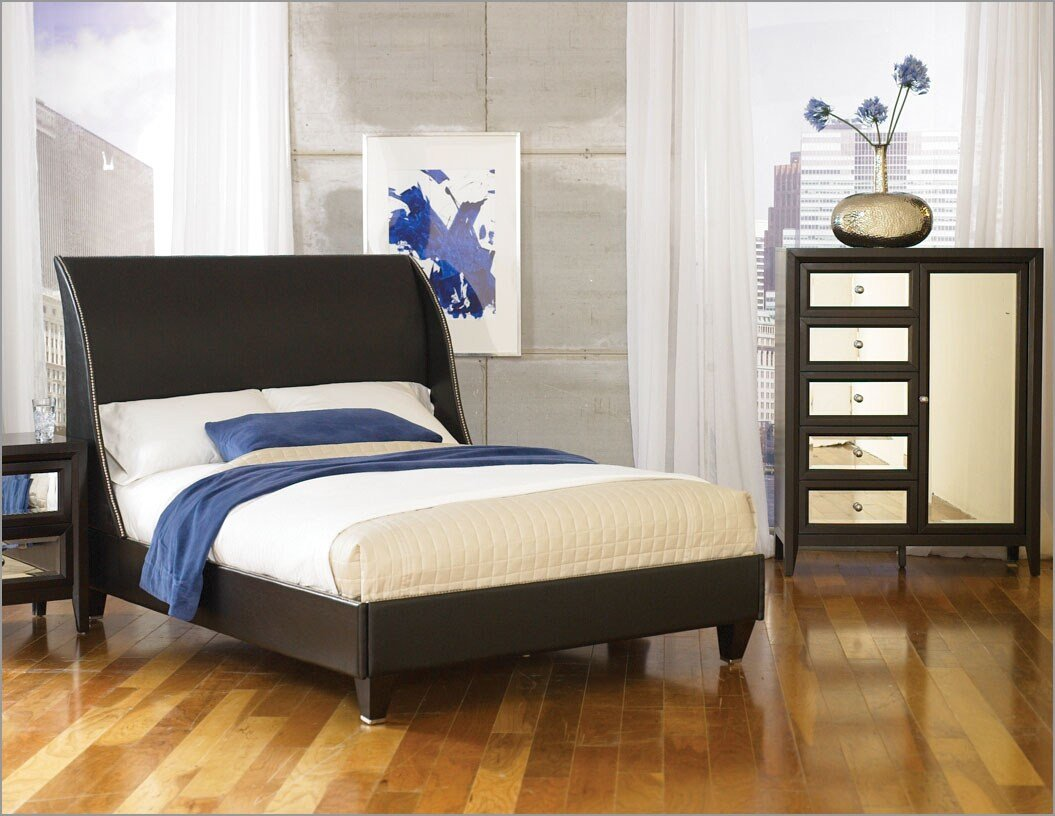 Best Najarian Furniture Bedroom Set Reflections Na Rfbset With Pictures