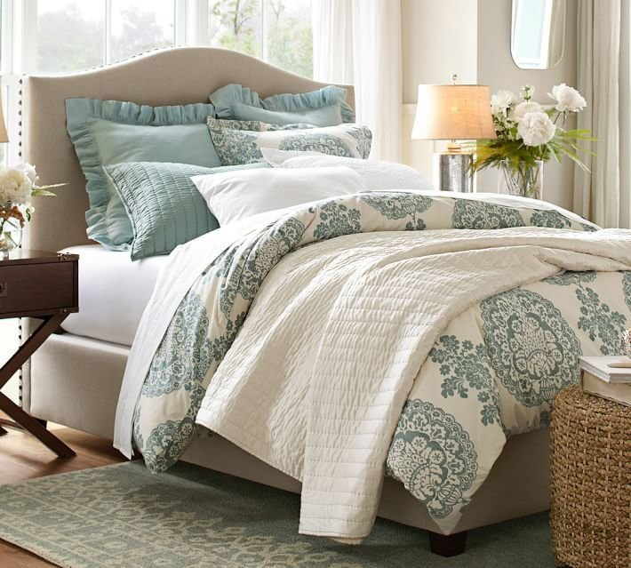 Best Diy Pottery Barn Upholstered Bed With Pictures