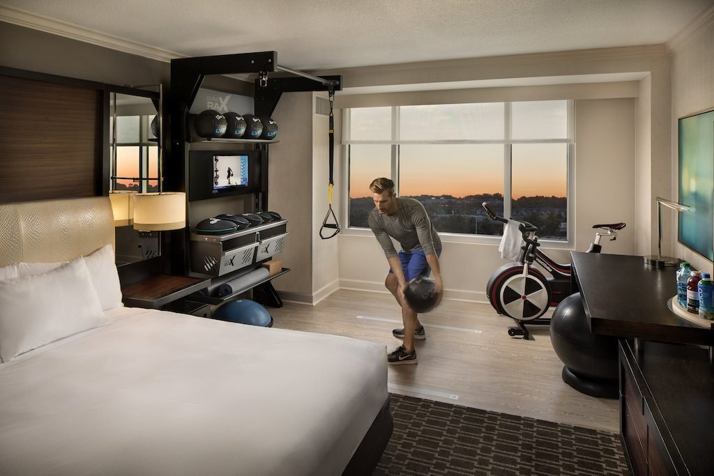 Best Hilton S New Design Brings The Gym To The Guest Room – Skift With Pictures