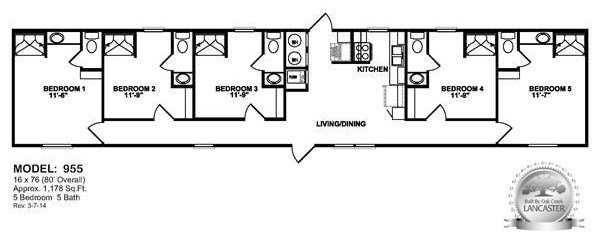 Best Oilfield Trailer Houses Floorplans For Workforce Housing With Pictures