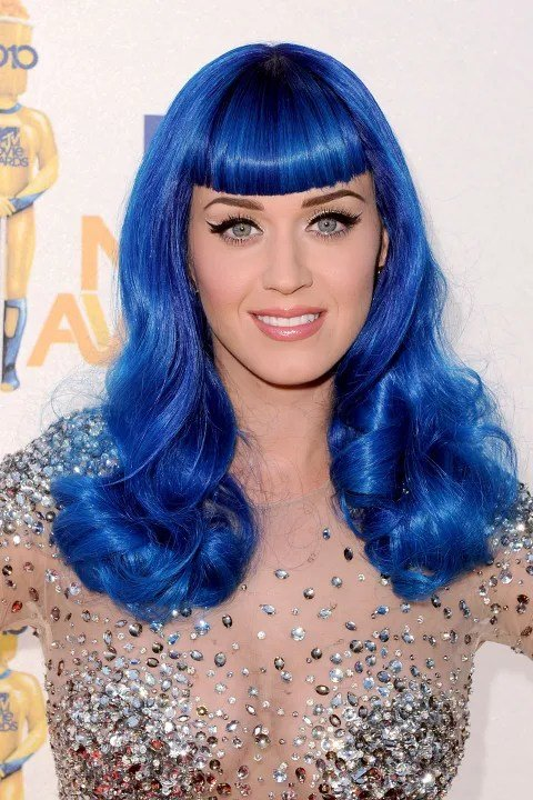 Free Katy Perry's Rainbow Of Hair Colors Through The Years Wallpaper