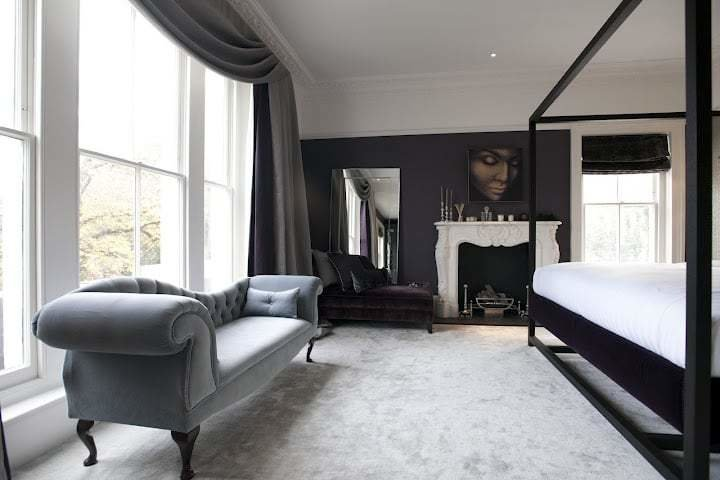 Best A Seating Area And Fireplace In The Master Bedroom With Pictures