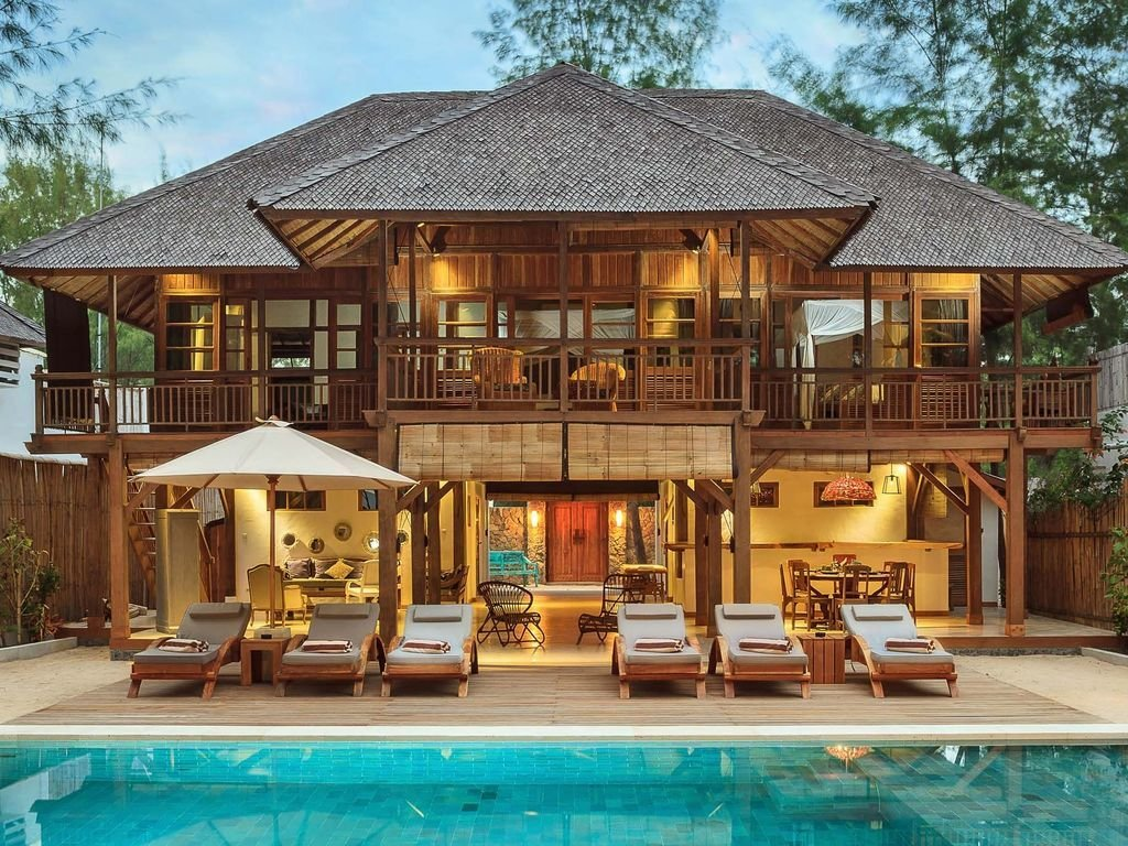 Best Paradise 4 Bedroom Villa Gili Trawangan Vrbo With Pictures