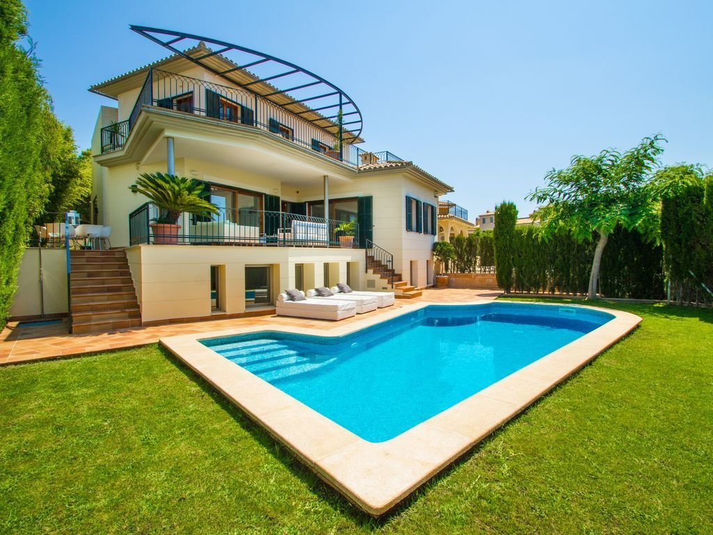 Best Villa In Palma With Private Pool Garden And Golf Views With Pictures
