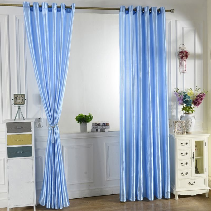 Best Room Blackout Darkening Curtains Window Panel Drapes Door Curtain For Bedroom Ebay With Pictures