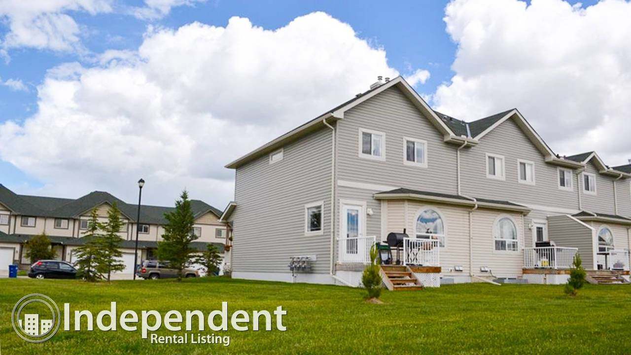 Best 3 Bedroom Townhouse For Rent In Airdrie Hope Street Real With Pictures