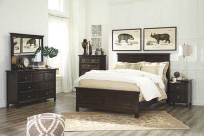 Best Alexee Queen Panel Bed Ashley Furniture Homestore With Pictures