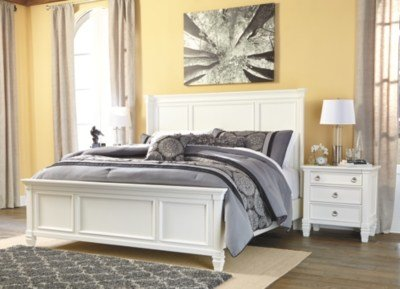 Best Prentice Queen Panel Bed Ashley Furniture Homestore With Pictures