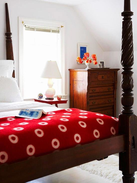 Best Bedroom Decorating In Pink And Red Better Homes Gardens With Pictures