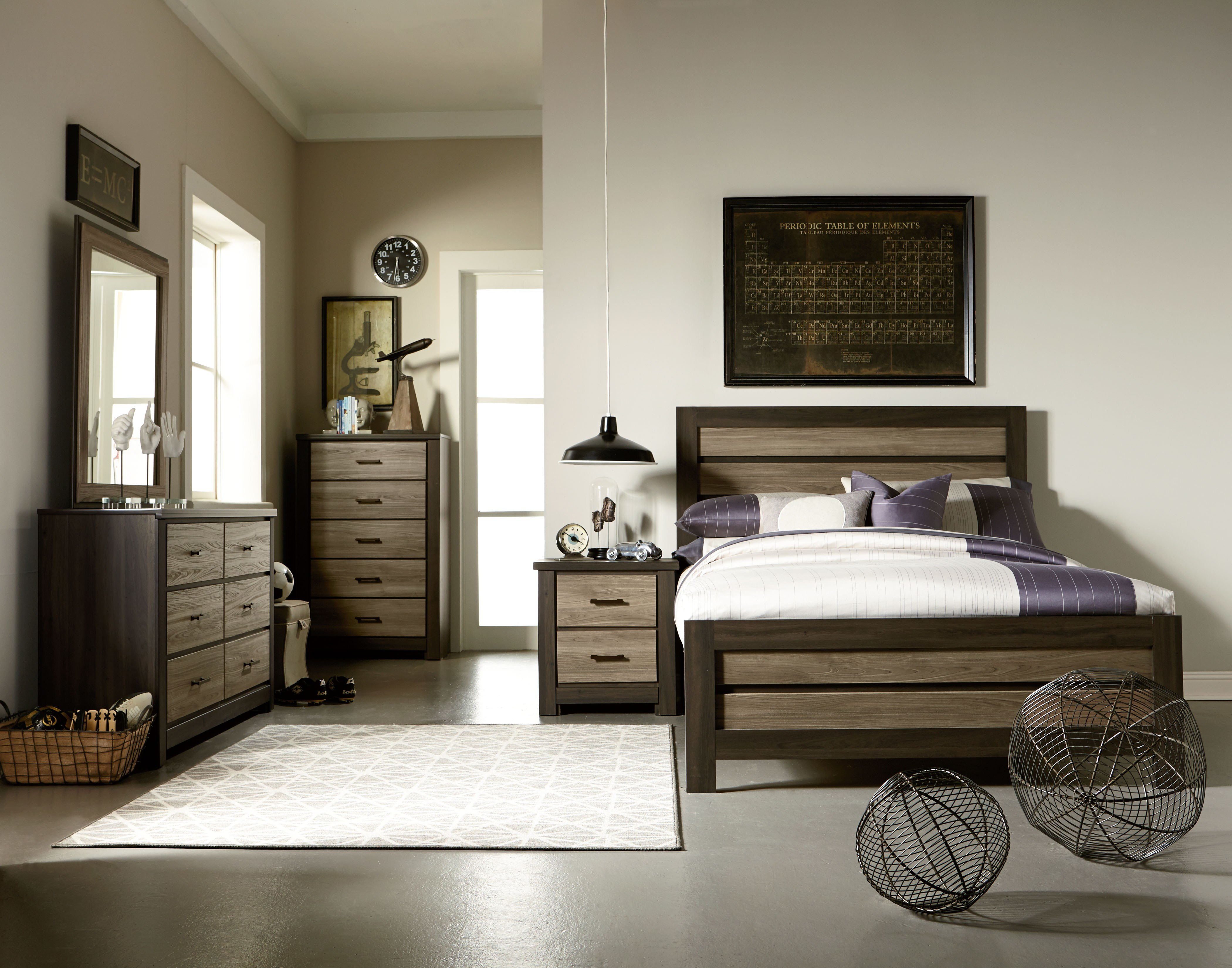 Best Oakland Queen Bedroom Collection All American Furniture With Pictures