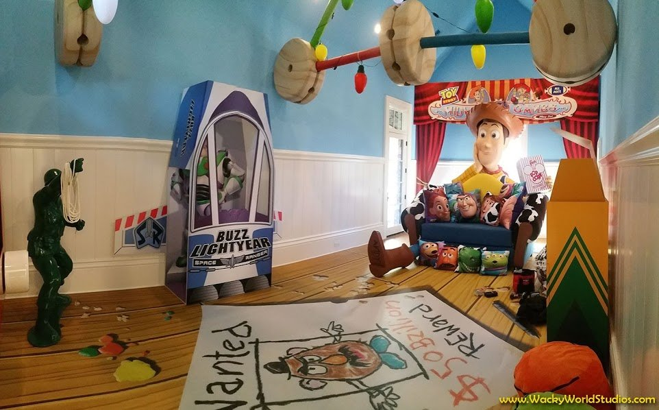 Best Wonderfully Designed Toy Story Themed Room Within Disney With Pictures