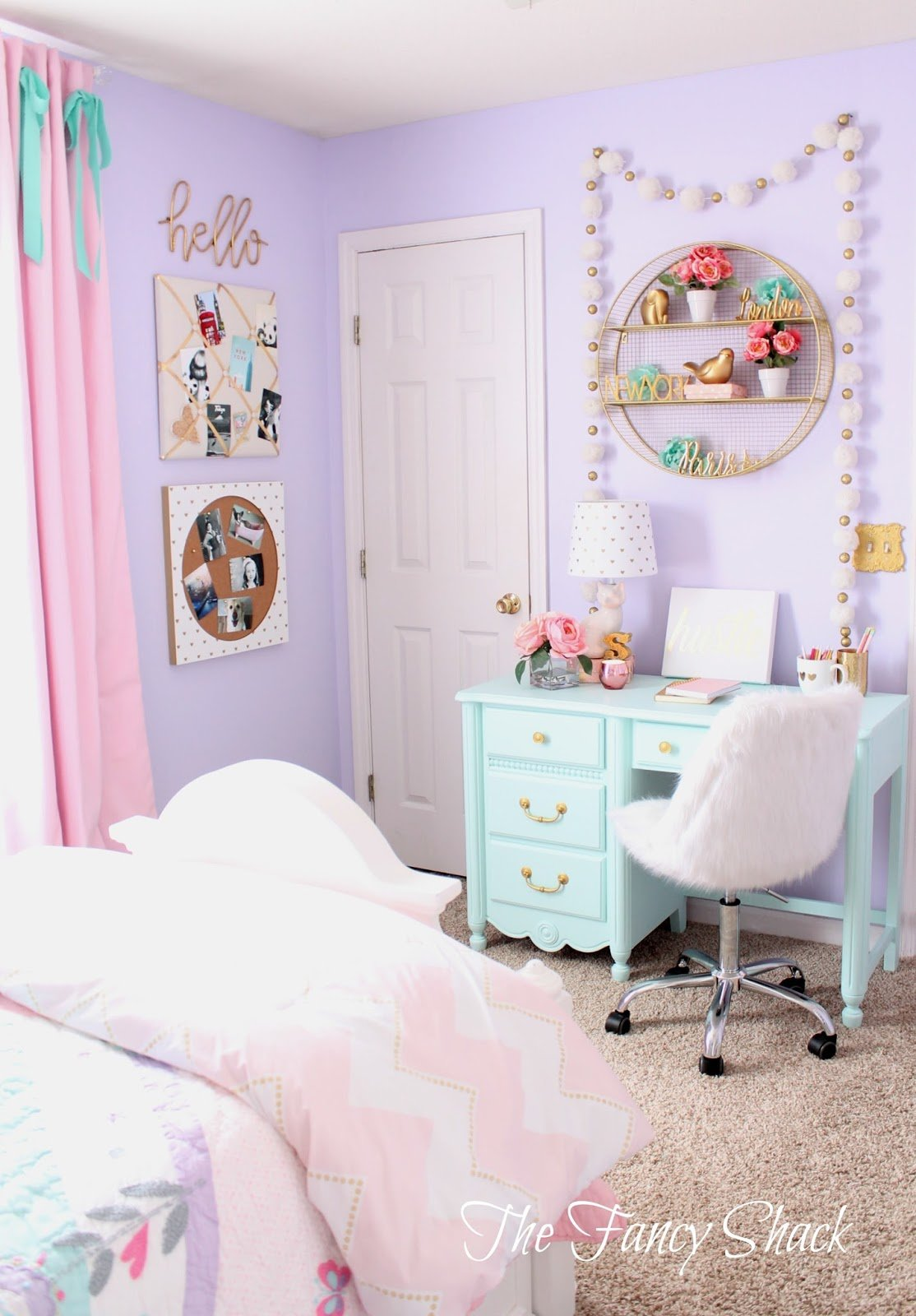Best The Fancy Shack Pastel Girls Room Makeover With Pictures