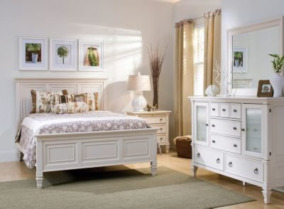 Best Somerset 4 Pc King Bedroom Set Alabaster Raymour With Pictures