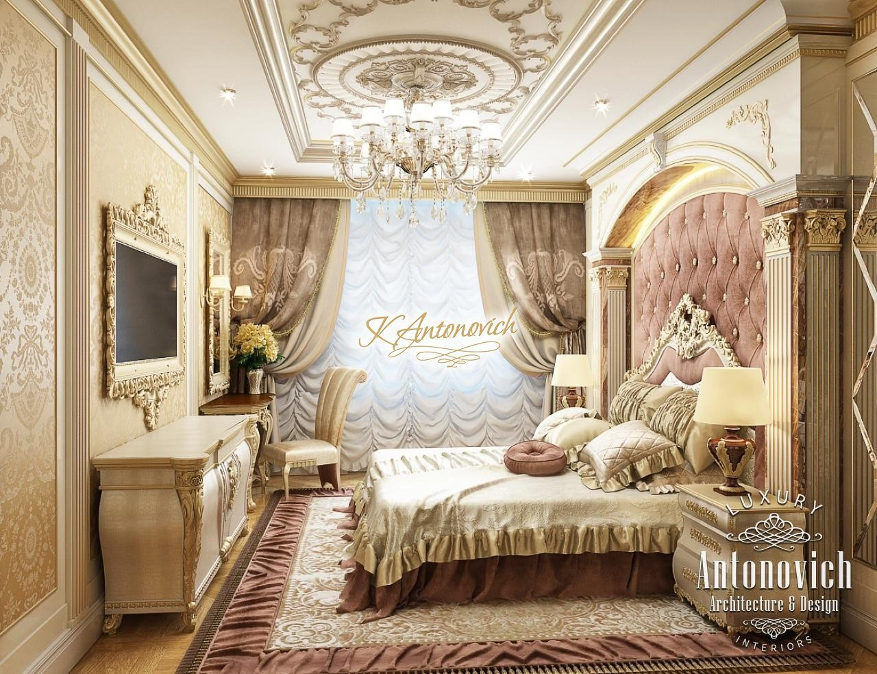 Best Royal Luxurious Bedrooms With Pictures