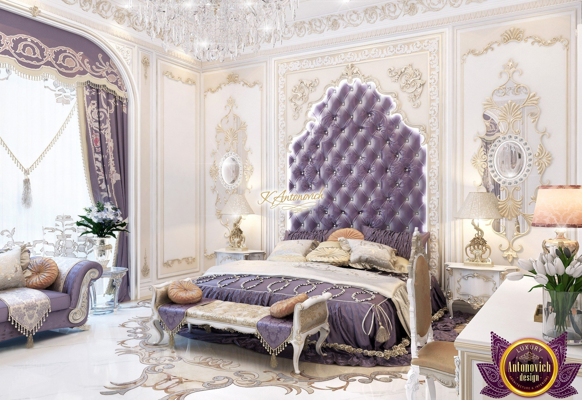 Best Luxury New Arabic Style Bedroom Design With Pictures
