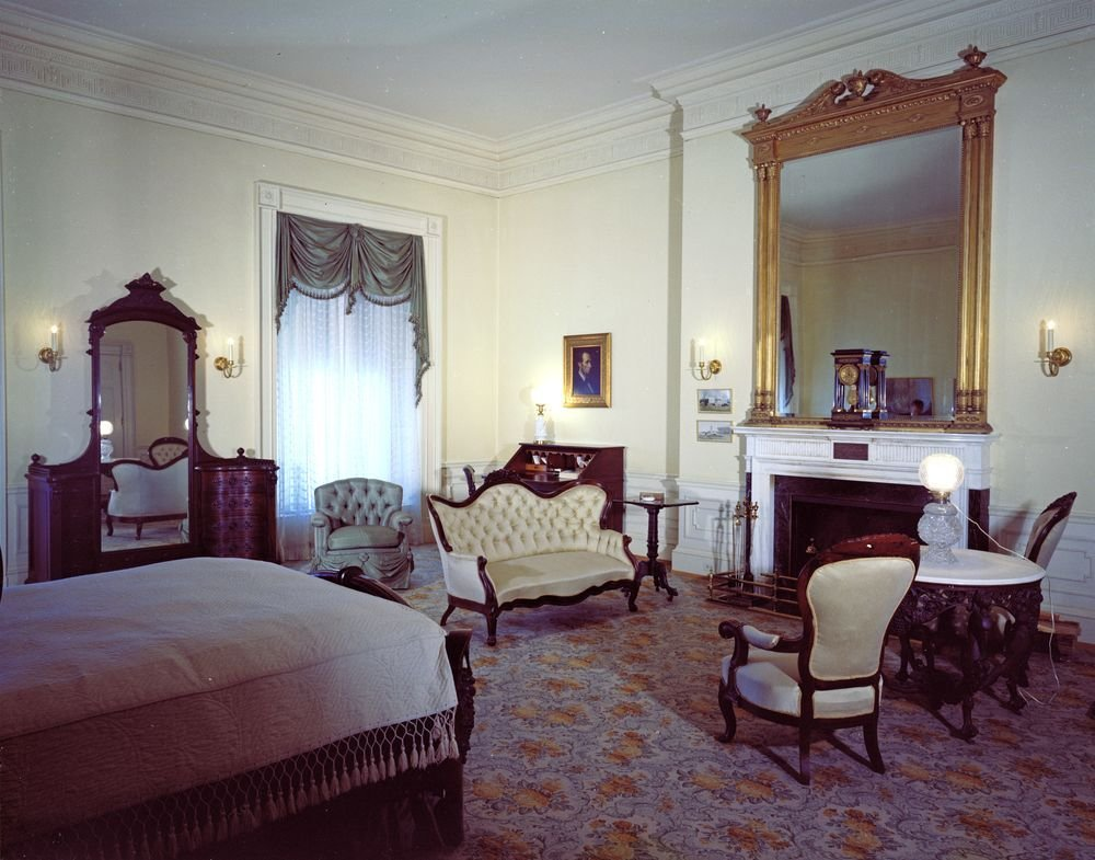 Best White House Rooms Lincoln Bedroom John F Kennedy With Pictures