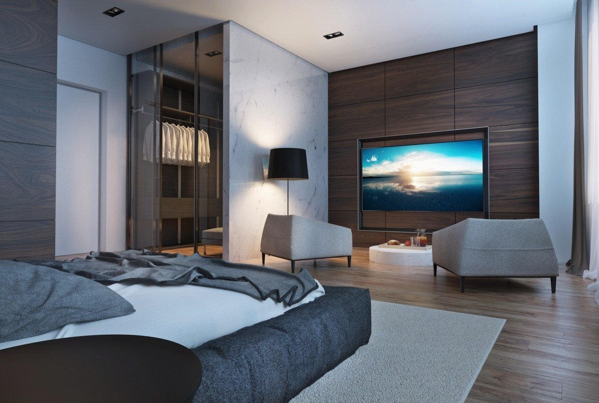Best Creative Studio Apartment Design Ideas With Dark Color With Pictures