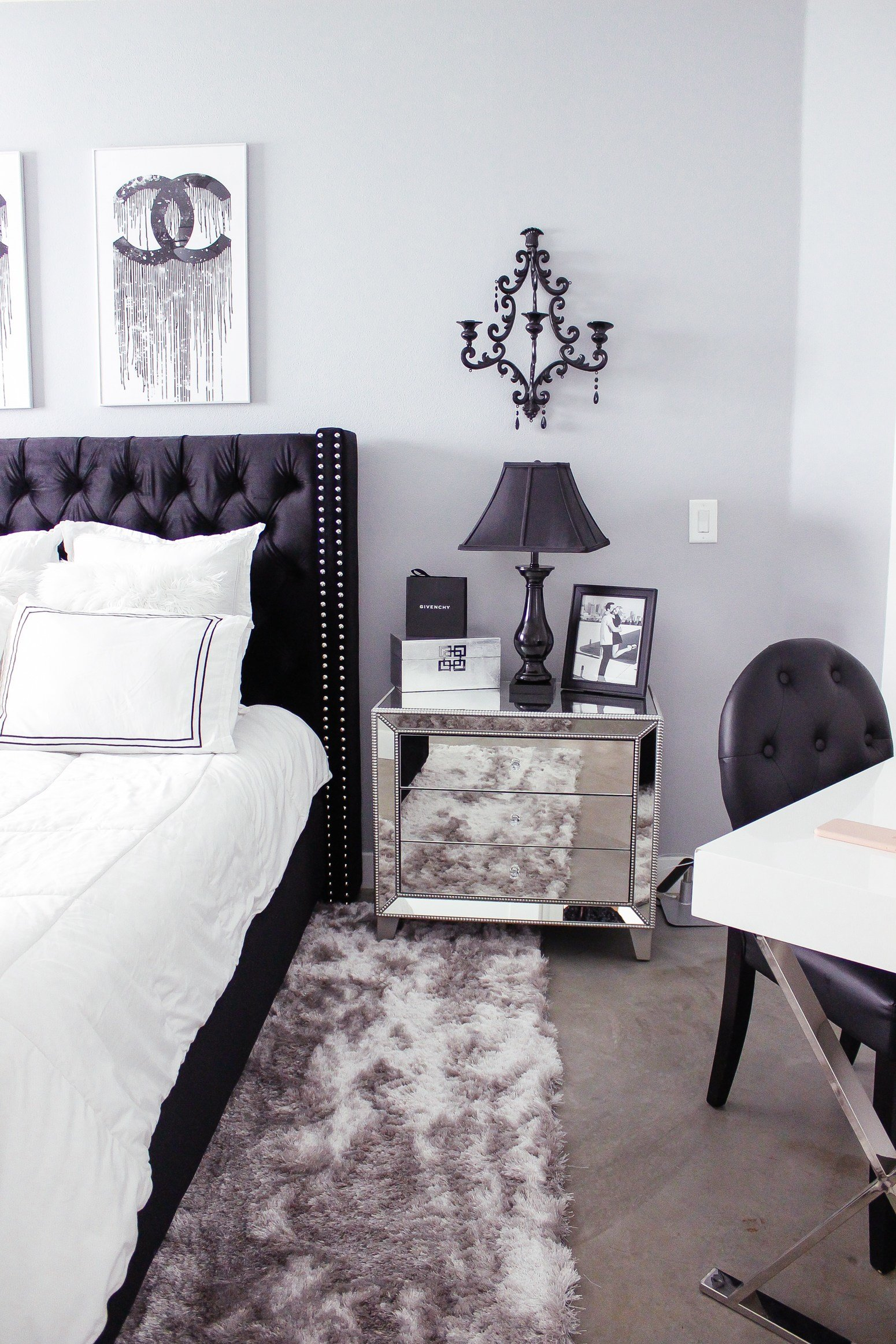 Best Black White Bedroom Decor Reveal With Pictures