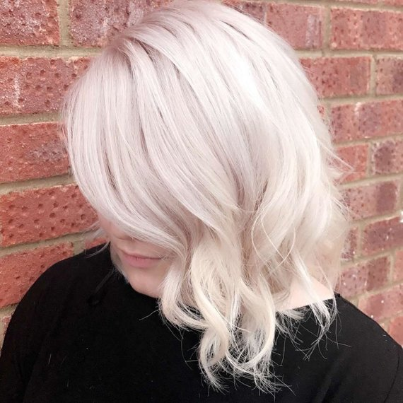 Free Ice Blonde Hair Color Is The Coolest Trend Right Now Wallpaper