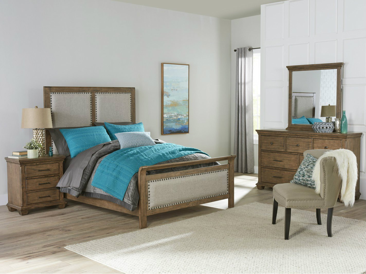 Best Simmons Carlton Bedroom Set Inspires Suite Dreams Rent A With Pictures